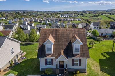 Christiansburg Single Family Home For Sale: 1129 New Village Drive