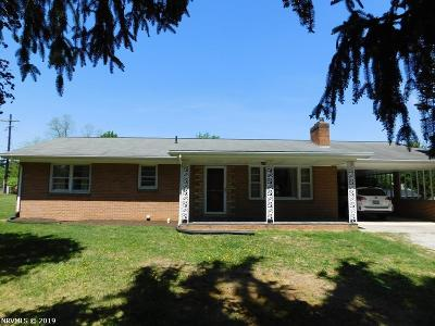 Christiansburg Single Family Home For Sale: 100 Ash Drive