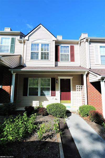 Christiansburg Condo/Townhouse For Sale: 120 Willow Oak Drive