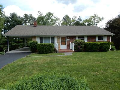 Christiansburg Single Family Home For Sale: 195 Economy Street