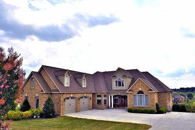 Christiansburg Single Family Home For Sale: 2151 Peakland Way