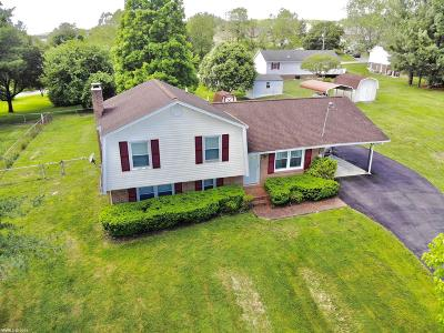 Christiansburg Single Family Home For Sale: 80 Meadow Drive