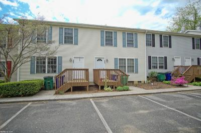 Christiansburg Condo/Townhouse For Sale: 545 School Lane