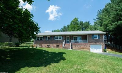 Christiansburg Single Family Home For Sale: 2930 Roanoke Street