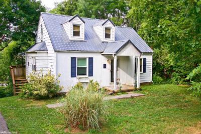 Christiansburg Single Family Home For Sale: 17 Montague Street