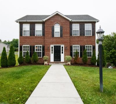 Christiansburg Single Family Home For Sale: 105 Sequoia Circle
