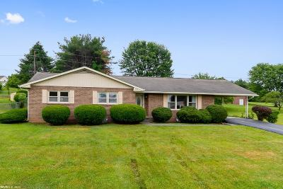 Blacksburg VA Single Family Home For Sale: $228,500