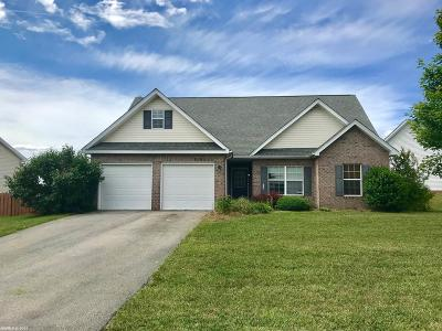 Christiansburg VA Single Family Home For Sale: $240,000