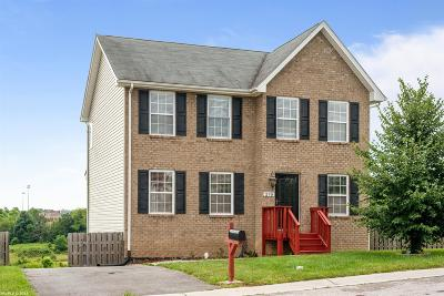Christiansburg VA Single Family Home For Sale: $259,000