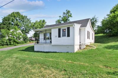Christiansburg Single Family Home For Sale: 1100 Montgomery Street