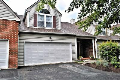 Christiansburg Condo/Townhouse For Sale: 430 Gold Leaf Drive