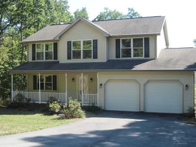Blacksburg Single Family Home For Sale: 4130 Crimson Drive