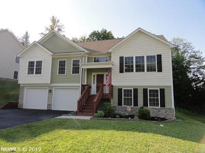 Christiansburg Single Family Home For Sale: 940 Crosscreek Drive