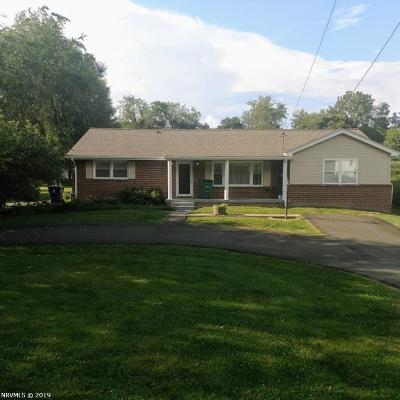 Christiansburg Single Family Home For Sale: 390 Ellett Road