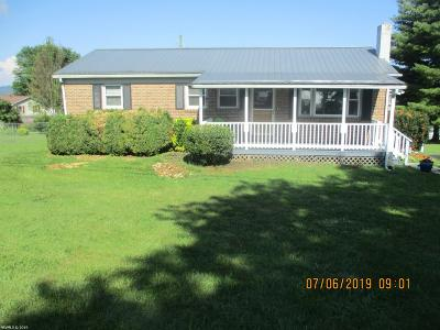 Pulaski County Single Family Home For Sale: 5725 Alum Spring Road