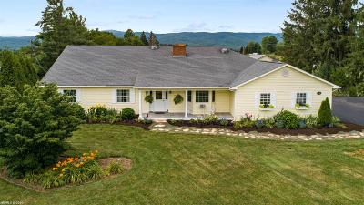 Blacksburg Single Family Home For Sale: 3648 Prices Fork Road