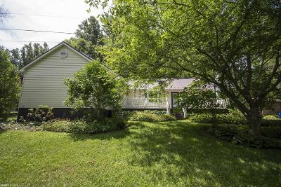 Blacksburg VA Single Family Home For Sale: $264,500