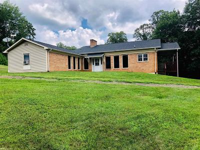 Woodlawn VA Single Family Home For Sale: $85,000
