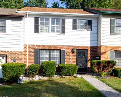 Christiansburg Condo/Townhouse For Sale: 114 Franklin Parke Court