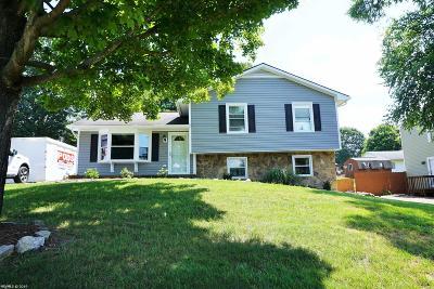 Christiansburg Single Family Home Back On Market: 1120 Juniper Drive