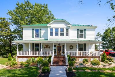 Christiansburg Single Family Home For Sale: 1834 Mud Pike Road
