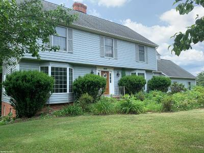 Radford Single Family Home For Sale: 7370 Dent Drive