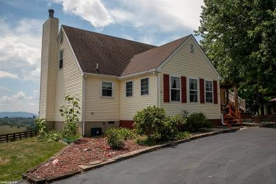 Christiansburg Single Family Home For Sale: 4016 Stanley Road
