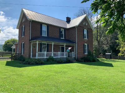 Glade Spring VA Single Family Home For Sale: $595,000