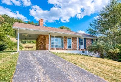 Christiansburg Single Family Home For Sale: 2112 Fire Tower Roads