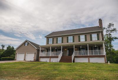 Riner Single Family Home For Sale: 1124 Union Valley Road