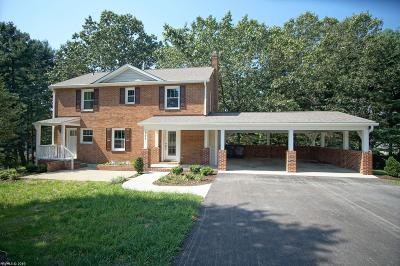 Blacksburg Single Family Home For Sale: 305 Little Circle