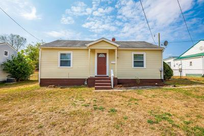 Radford Single Family Home For Sale: 1008 Lyle Street