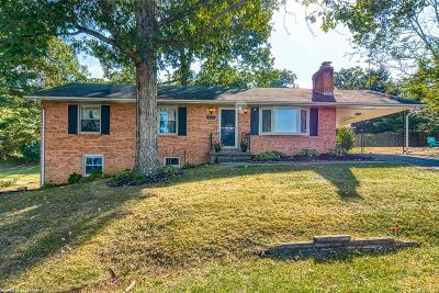 Christiansburg Single Family Home For Sale: 325 Chinquapin Trail