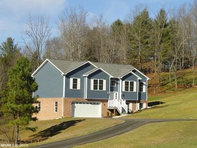 Radford Single Family Home For Sale: 4501 Old Stage Road
