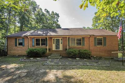 Blacksburg Single Family Home For Sale: 4640 Susannah Drive