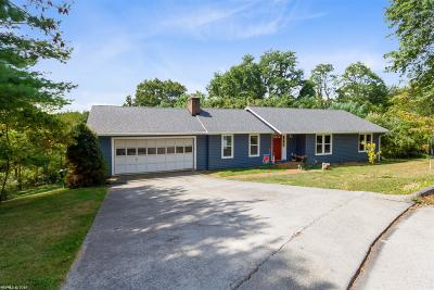 Blacksburg Single Family Home For Sale: 1409 Gladewood Drive