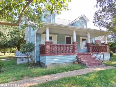Giles County Single Family Home For Sale: 117 Old Virginia Avenue