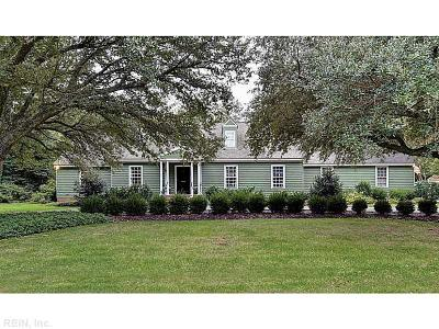 Newport News Single Family Home For Sale: 23 Spottswood Ln