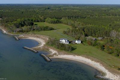 Northampton County, Accomack County Single Family Home For Sale: 4530 Beach Ln