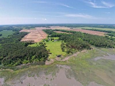 Northampton County, Accomack County Single Family Home For Sale: 6379 Glen Air Ln