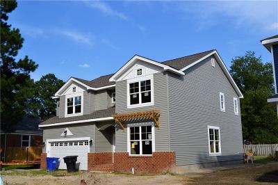 Portsmouth Single Family Home For Sale: 3111 Ferguson Dr