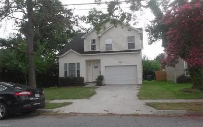 Norfolk Single Family Home For Sale: 8527 Old Ocean View Rd