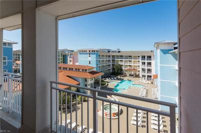 Sandbridge Beach Single Family Home Under Contract: 3700 Sandpiper Rd #425