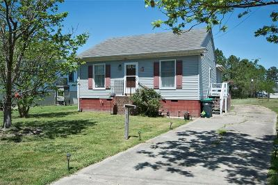 Poquoson Single Family Home For Sale: 80 Church Rd