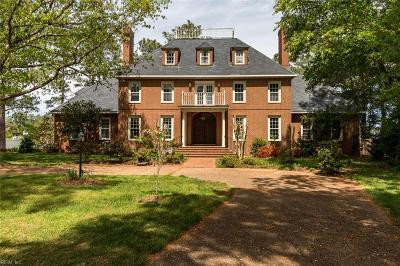 Virginia Beach VA Single Family Home For Sale: $1,290,000