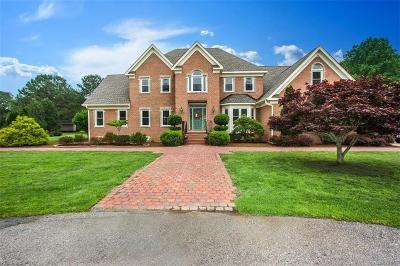 Hampton Single Family Home For Sale: 109 Creekview Ln