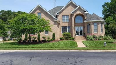 Portsmouth Single Family Home For Sale: 4001 Estates Ln
