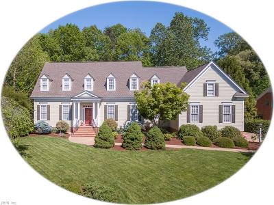 Williamsburg Single Family Home For Sale: 272 Sir Thomas Lunsford Dr