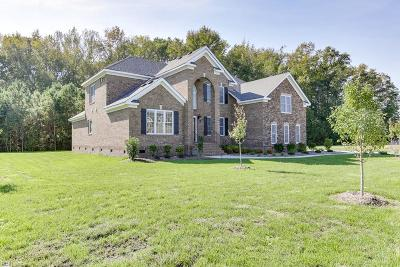 Chesapeake Single Family Home Under Contract: 317 Scone Castle Loop