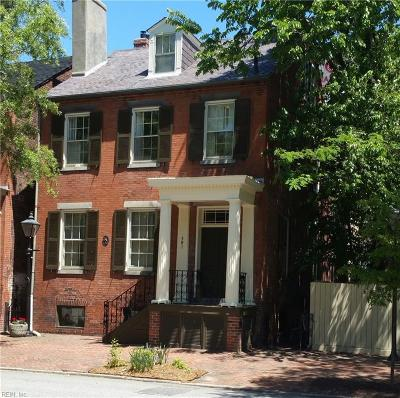 Portsmouth Single Family Home For Sale: 421 Crawford St